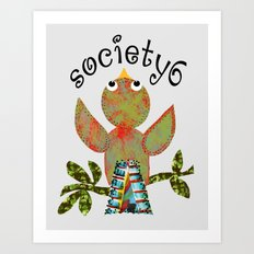 BirdCall S6 Art Print