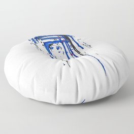A blue hope 2 Floor Pillow