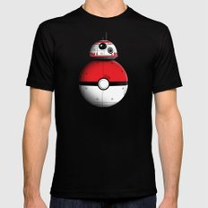 PokeBB Black X-LARGE Mens Fitted Tee