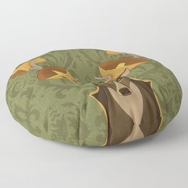Horns Floor Pillow