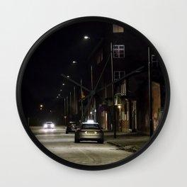 Sleepless nights Wall Clock