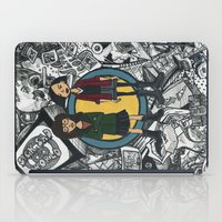 daria iPad Cases featuring It's a Sick Sad World Daria by MyOwlHasAntlers