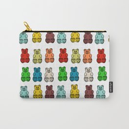 Cute Gummy Bear Candy Collage Carry-All Pouch