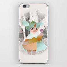 Happy To Be Here iPhone & iPod Skin