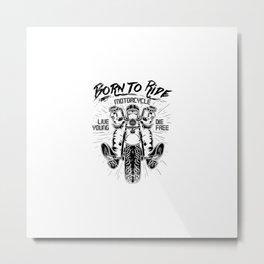 Motorcycle Riders | Biker Gift Ideas Metal Print