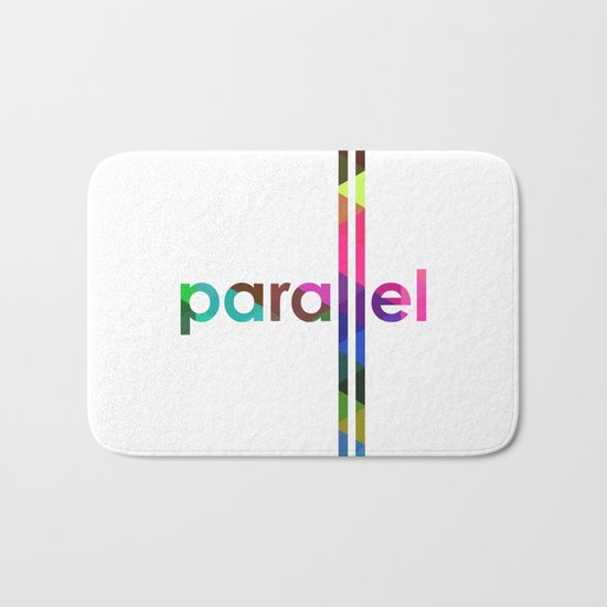 Parallel Bath Mat