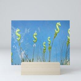 Wealth Sower Concept Artwork Mini Art Print