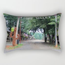Town Of Love Valley Rectangular Pillow