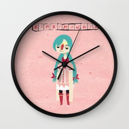 """Bimbiminkia"" - Cosplayer Wall Clock"