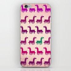 Green Unicorn iPhone & iPod Skin
