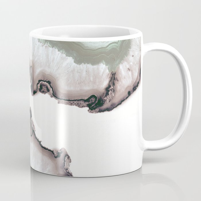 Light Water Agate Coffee Mug