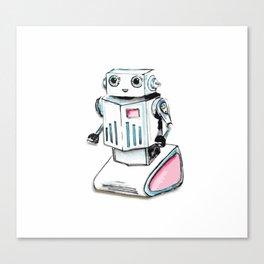Robot a go-go Canvas Print