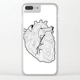 Ubi cor, ibi domus Clear iPhone Case