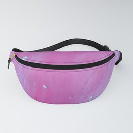 Hot Pink Marble Fanny Pack