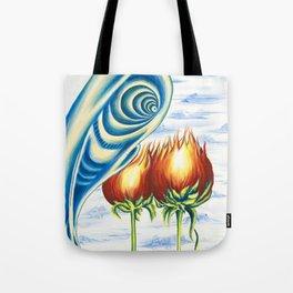 Poppie Flowers Tote Bag