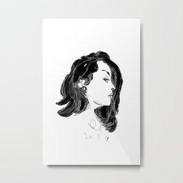 lady galoctopus Metal Print