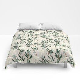 OLIVE BLOOM Comforters