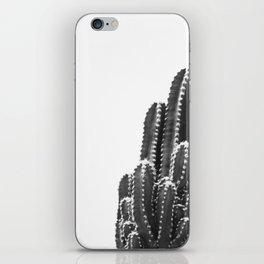 black cactus iPhone Skin