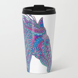Technicolor Horse Travel Mug