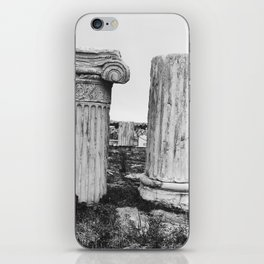 Ruined columns at the Parthenon iPhone Skin