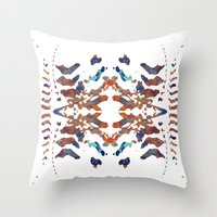 ethnic Throw Pillows featuring Ethnic by Rui Faria