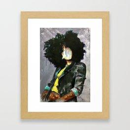 Naturally David Framed Art Print