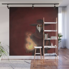 The Plague Doctor Wall Mural