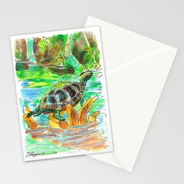 Turtle Perch Stationery Cards