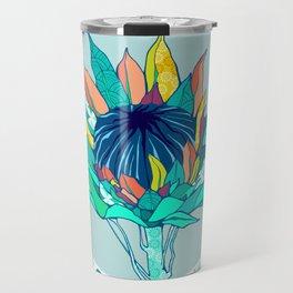 Bohemian Banksia Travel Mug