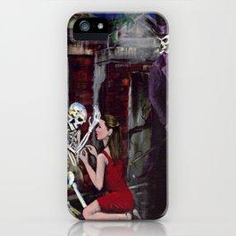 RARE LOVE, Halloween, Original art iPhone Case