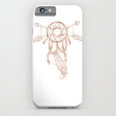 Mandala Rose Gold Pink Dreamcatcher iPhone 6s Slim Case