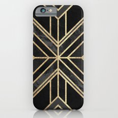 Geo Black Marble Dream iPhone 6 Slim Case