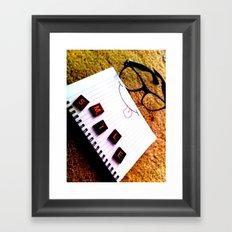 Smile Framed Art Print