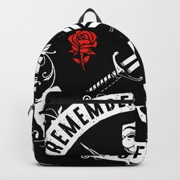 guy fawkes mask Backpack