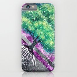 Green and Blue Trees iPhone Case