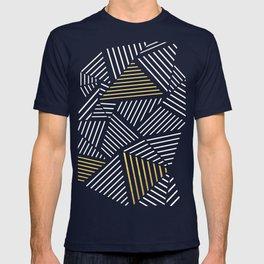 A Linear Black Gold T-shirt