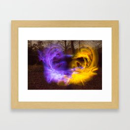 Night & Day Framed Art Print