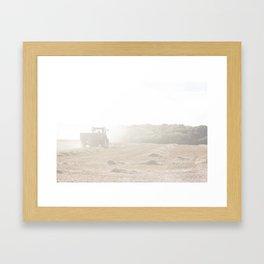 English Farming Scene Photograph Framed Art Print