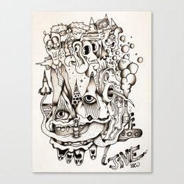 Les Jive Canvas Print