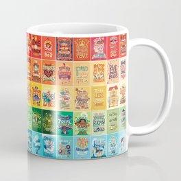 Rainbow of Posters Coffee Mug