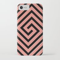 greek iPhone & iPod Cases featuring Peachy Greek by Lyle Hatch