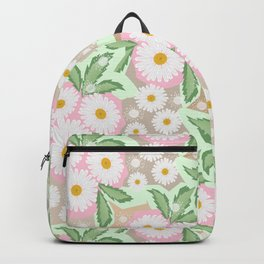 Chamomiles. Pastel'. Backpack