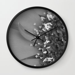 Gerbera Wall Clock