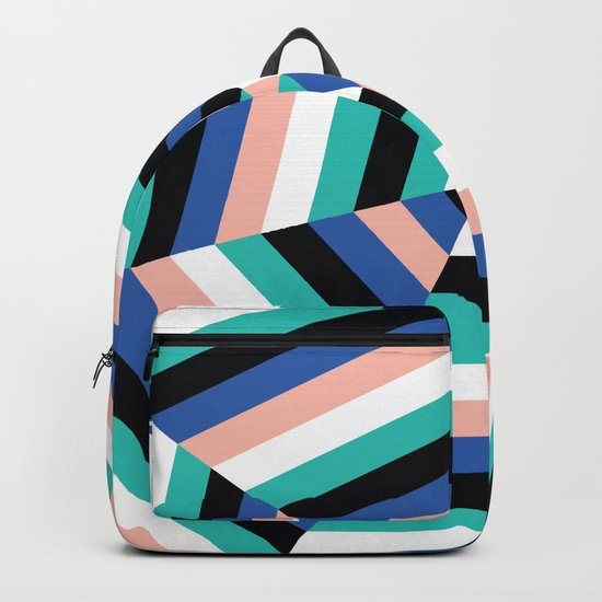 Heptagon Quilt 3 Backpack