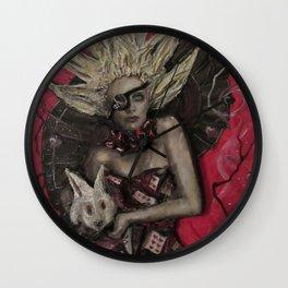 Alice the Queen Wall Clock