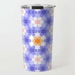 Stars and hexagons Travel Mug