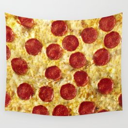 Who Wants Pizza? Wall Tapestry