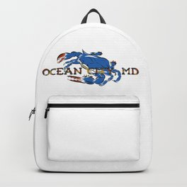 Ocean City Blue Crab Backpack