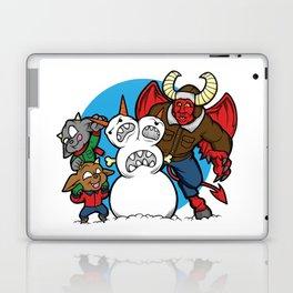 Hell Freezes Over Snowman Laptop & iPad Skin