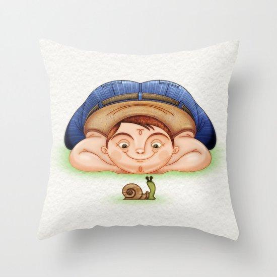 Caracol Throw Pillow